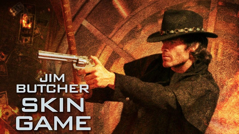 The cover of Jim Butcher's Skin Game: A Novel Of The Dresden Files