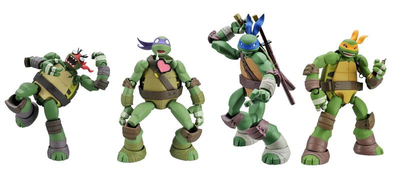 Illustration for article titled New Teenage Mutant Ninja Turtle Figures Revealed