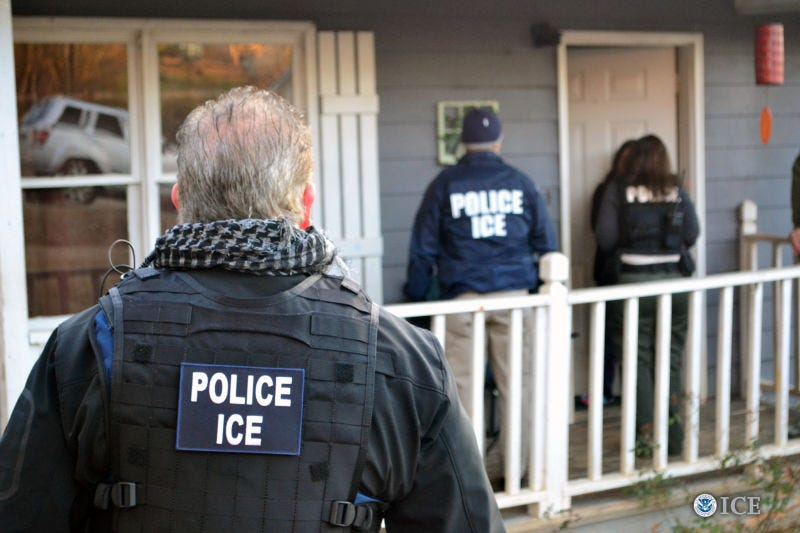 Bryan Cox/U.S. Immigration and Customs Enforcement via Getty Images