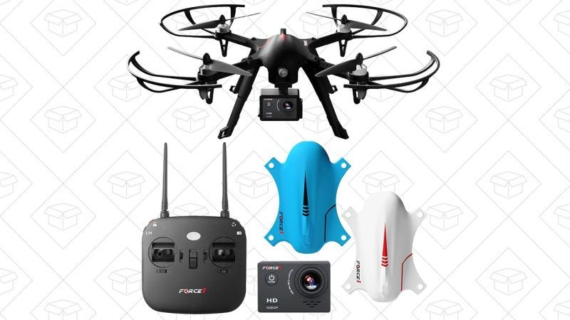 Drone Force1 F200 Ghost   $100   Amazon