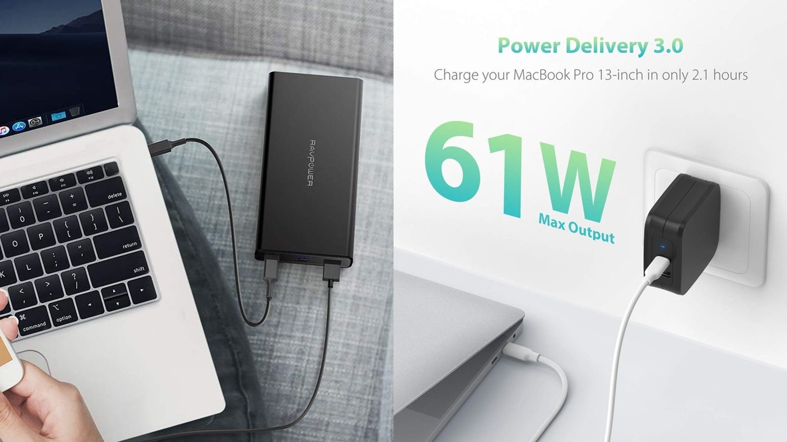 Save On a Pair of Powerful USB-C PD Chargers