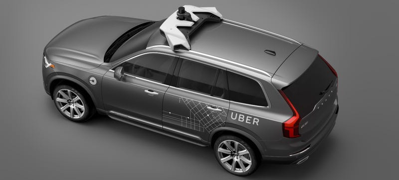 Illustration for article titled Uber's New Self-Driving Volvos Are A Long Way From Being 'Driverless'