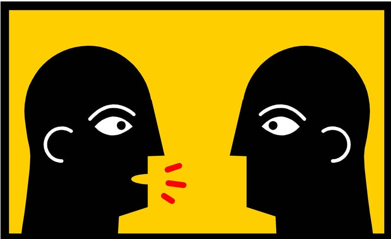 Illustration for article titled Thinking before you speak: not that easy