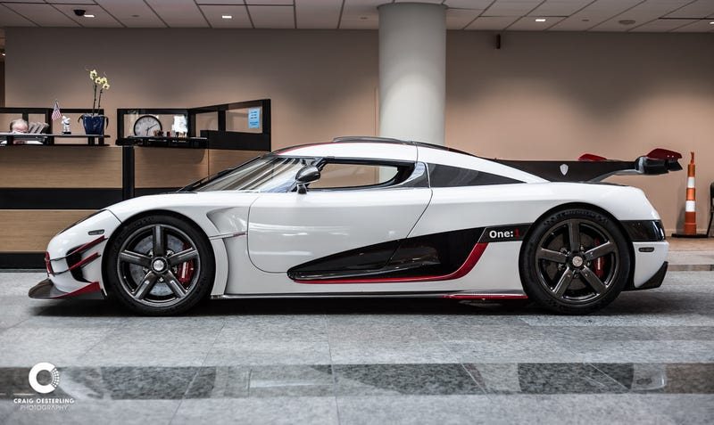 Illustration for article titled Appointment with a Koenigsegg One:1
