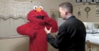 Illustration for article titled Video: Elmo Gets In A Brawl, Wins