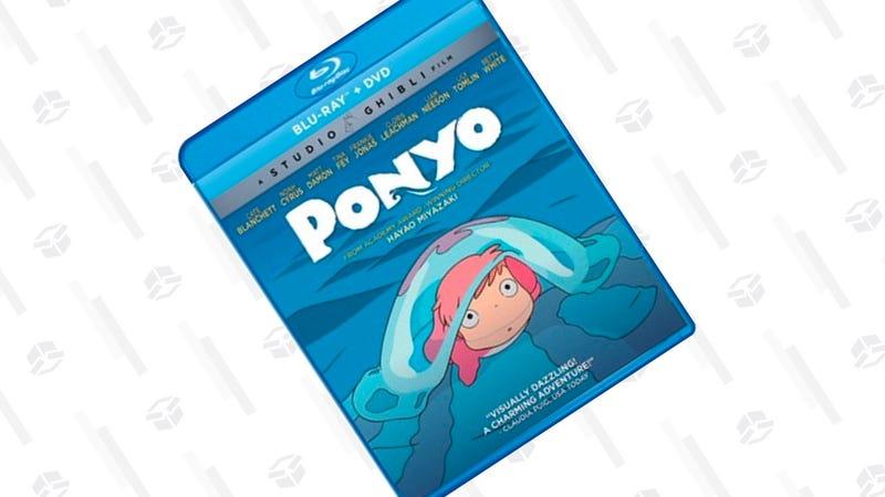 Ponyo (Bluray/DVD Combo) | $13 | Amazon