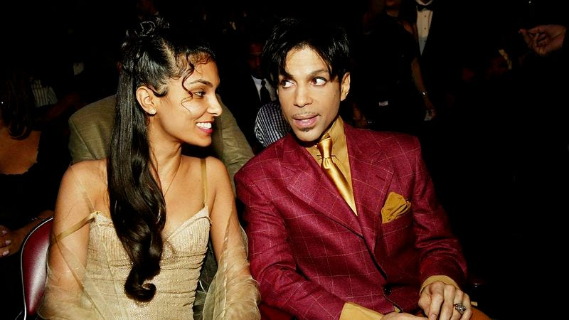 Manuela Testolini and Prince (Photo: Frank Micelotta/Getty Images)