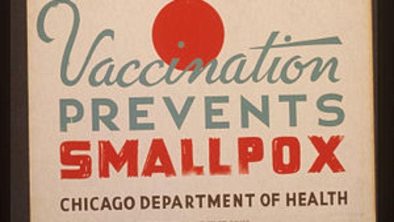 Illustration for article titled Read about the worst killer in the history of the world: smallpox