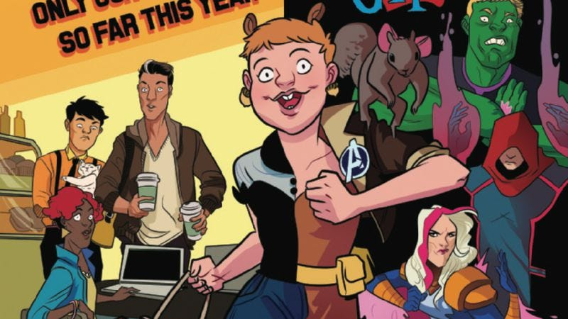 Illustration for article titled Exclusive Marvel preview: The Unbeatable Squirrel Girl is back to kick butts, eat nuts