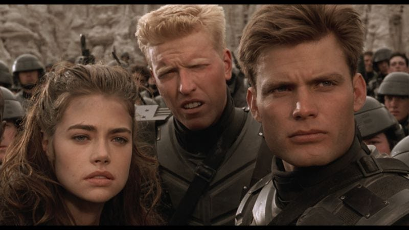 Illustration for article titled Starship Troopers reboot to be less violent and more patriotic—would you like to know more?