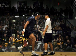 Illustration for article titled The Greatest Photo Ever Taken At A Squash Match