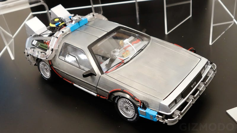 Illustration for article titled Only Time Travel Can Make this Perfect BTTF DeLorean Arrive Any Sooner