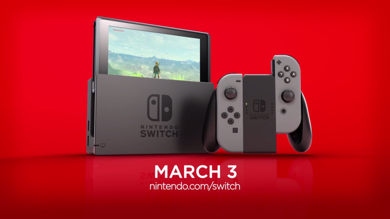 Illustration for article titled Switch Preorders