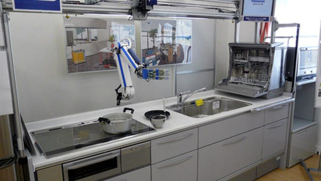 Dishwasher Robot Ensures Our Future Selves Will Have Zero