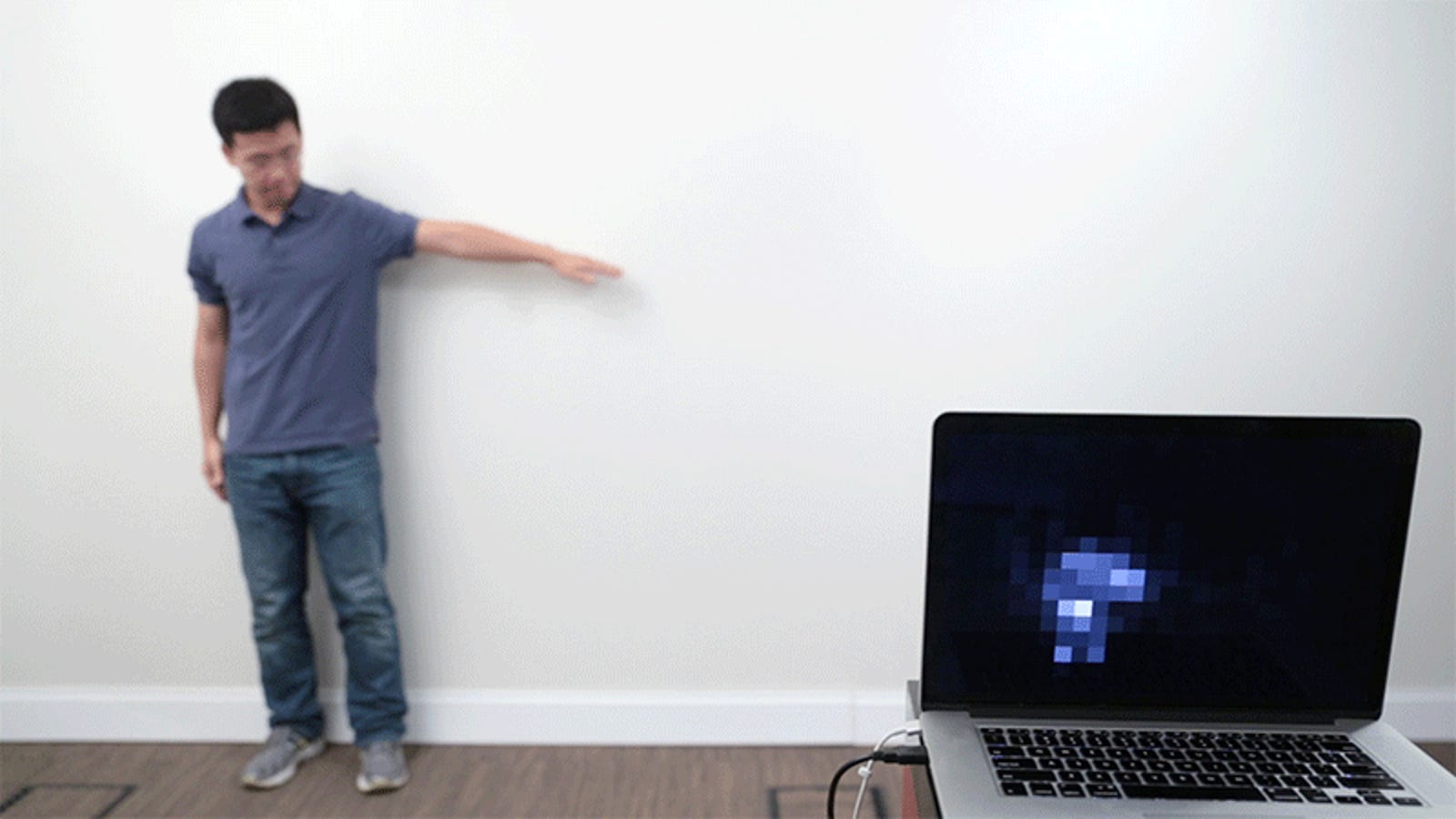 This Cheap Painting Technique Turns Walls Into Giant Touch Sensors