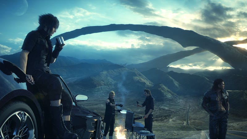 Illustration for article titled Final Fantasy XV Sells 690,471 Retail Copies In Its First Week In Japan