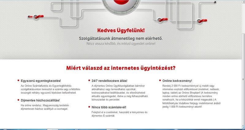 Illustration for article titled A Vodafone pofátlan cinizmusa