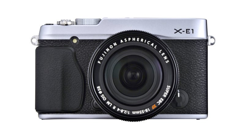 Illustration for article titled Fujifilm X-E1: Exactly Like the X-Pro1, but Smaller