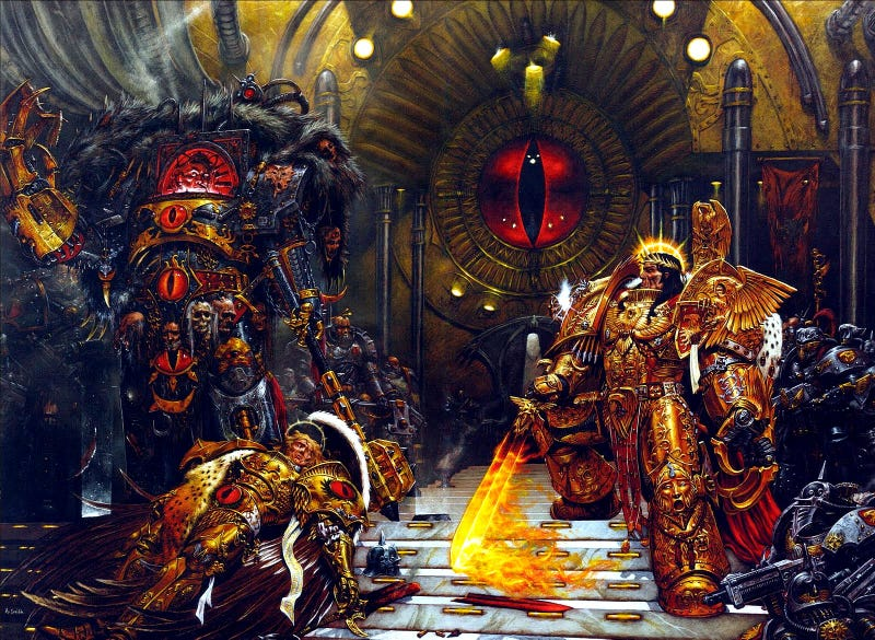 Illustration for article titled The Empire of Games Workshop is Burning.
