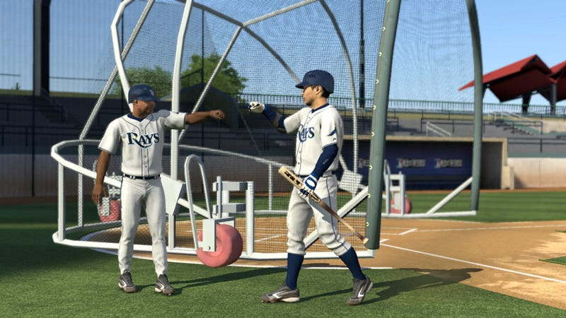 Illustration for article titled MLB 09 Lets You Record Custom Crowd Chants