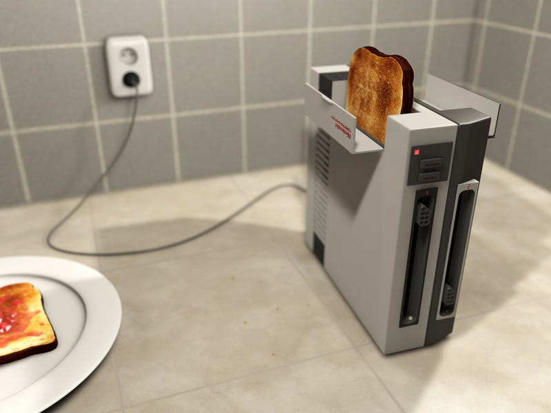 Illustration for article titled The NES Runs So Hot You Can Use It As A Toaster