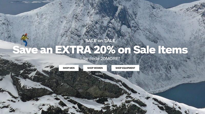 Extra 20% Off Sale | Marmot | Promo code 20MORE