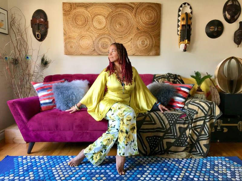 Poet jessica Care moore (Tafari Stevenson-Howard)