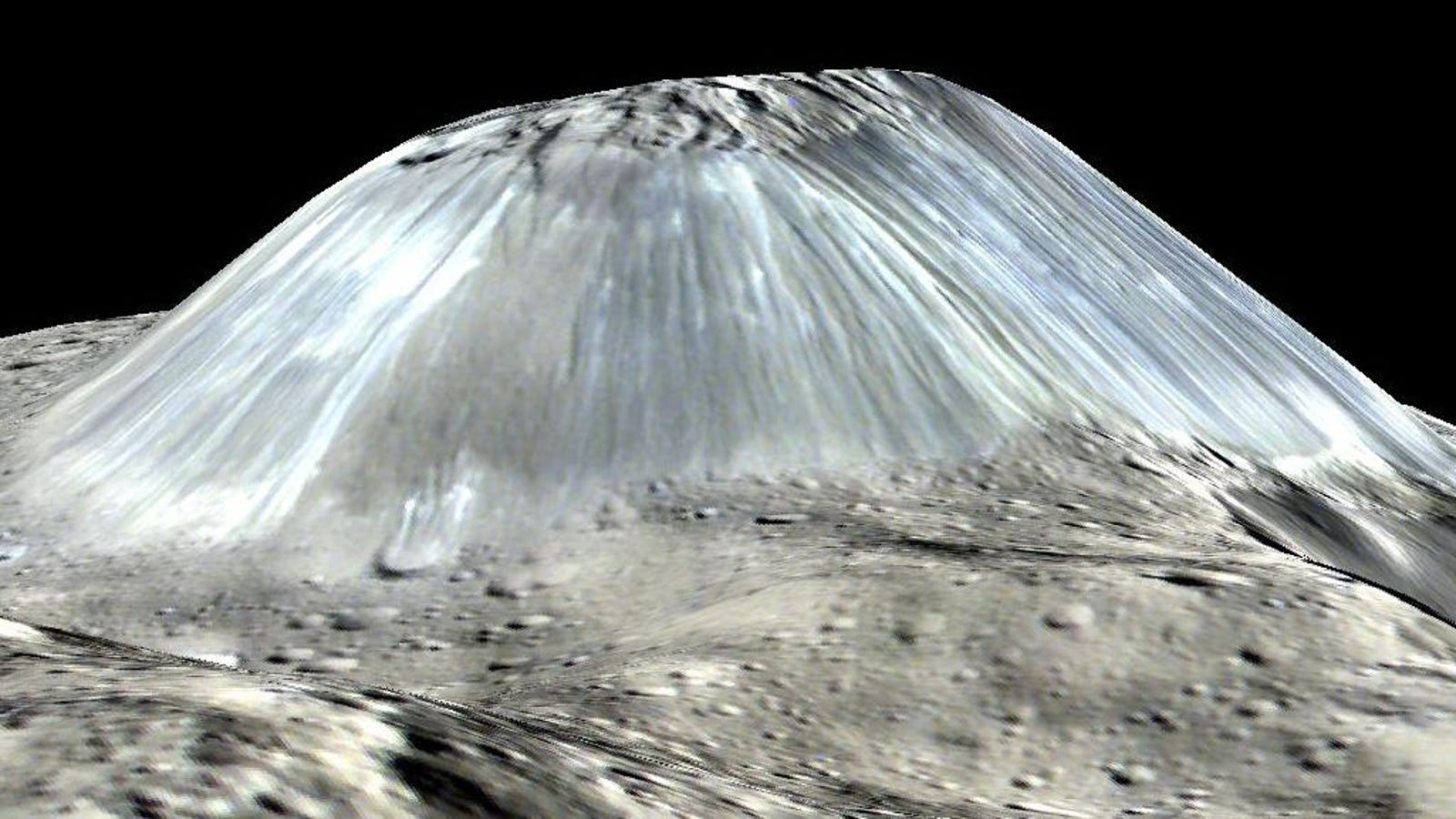 This Dwarf Planet's Freaky Ice Volcano Might Not Be Alone After All