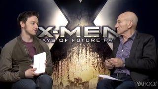 Illustration for article titled James McAvoy Won't Do Star Trek Impressions For Patrick Stewart
