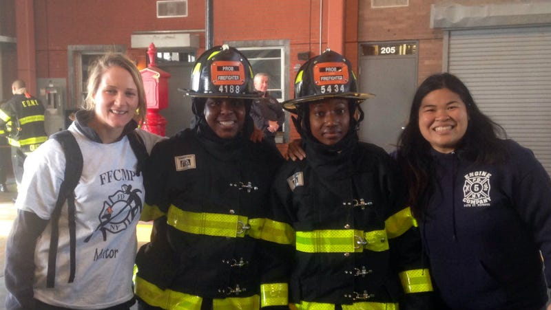 Illustration for article titled A Record Number of Female Firefighters Are Joining the FDNY This Year