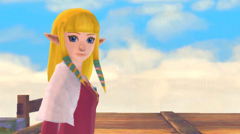 Illustration for article titled Fall In Love with Zelda All Over Again with These Skyward Sword Screens