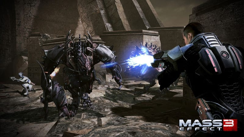 Illustration for article titled Mass Effect 3's Director Didn't Want you to Forget the Game's Ending
