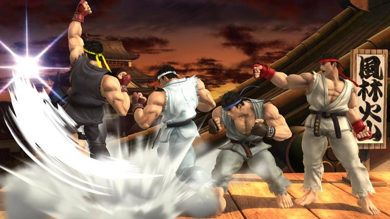Ryu's smash bros. Debut is an example of nintendo's refreshing.