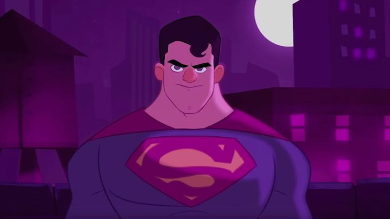Illustration for article titled Animated short predicts the ending of Batman V Superman: Dawn Of Justice