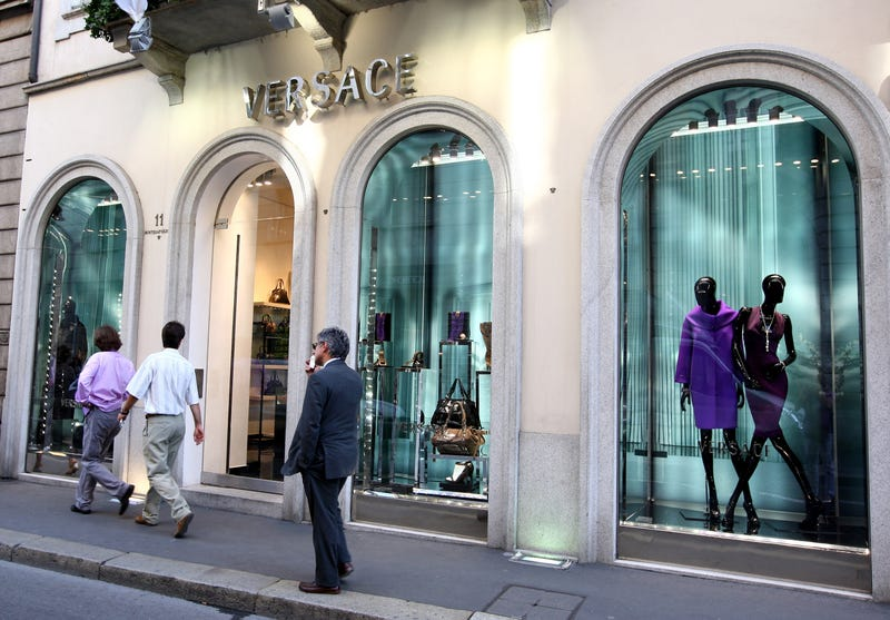 A Versace store lining the Via Montenapoleone in Milan, Italy, in 2011Vittorio Zunino Celotto/Getty Images