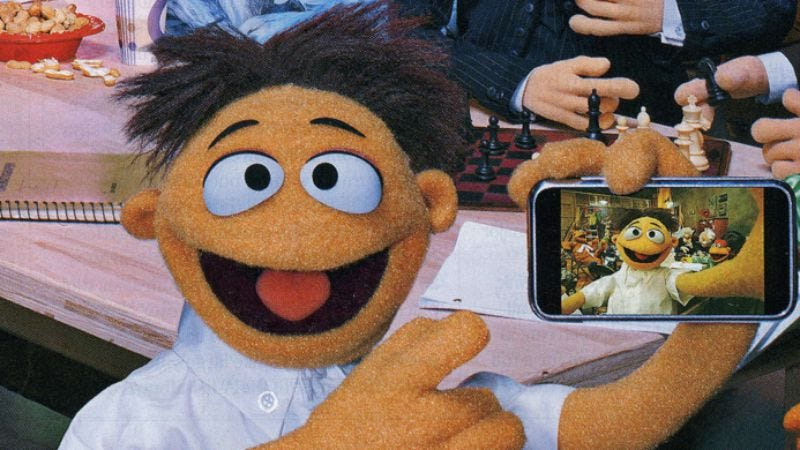 Illustration for article titled That new Muppet is basically Michael Cera