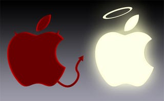 Illustration for article titled Photoshop Contest: Is Steve Jobs Good or Evil?