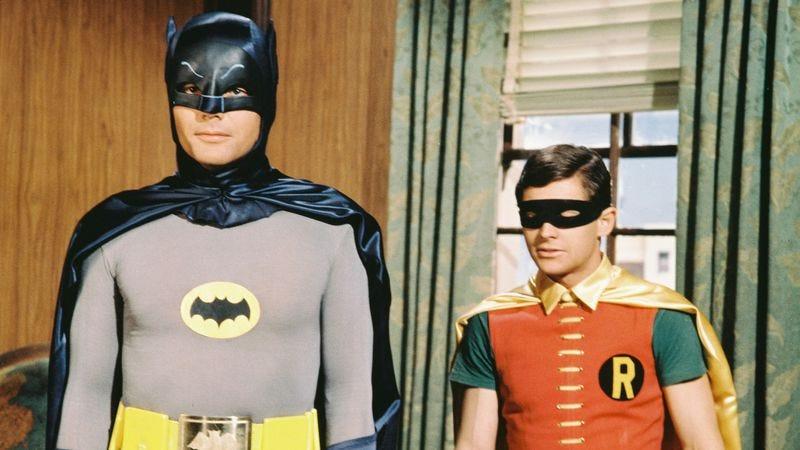 Dick grayson robin in the 1960s tv series batman