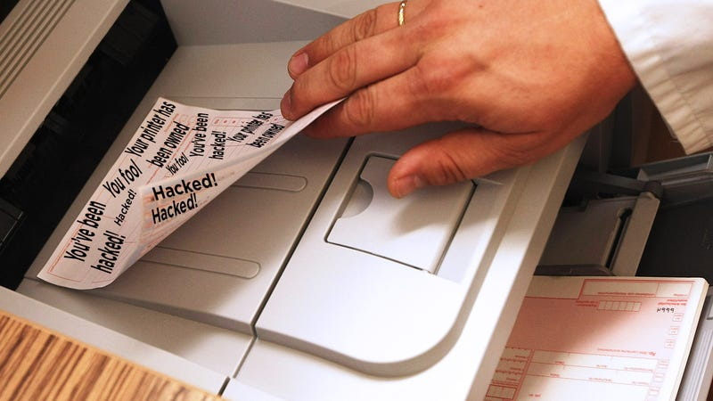 Hacker Claims He Hacked 150,000 Printers to 'Raise Awareness