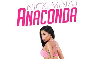 Illustration for article titled Nicki Minaj's New Album Art Is...Bold (NSFW)