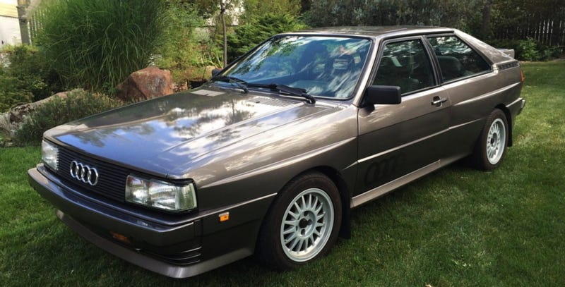How About A 1985 Audi Ur Quattro For 79 950