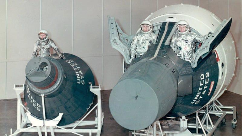 Illustration for article titled Así de diminutas eran las primeras naves que nos llevaron al espacio