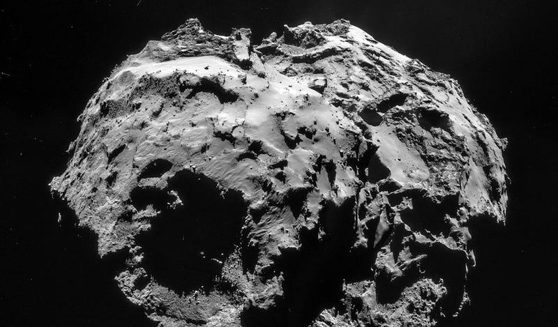 Illustration for article titled Rosetta descarta que el agua de la Tierra proceda de los cometas