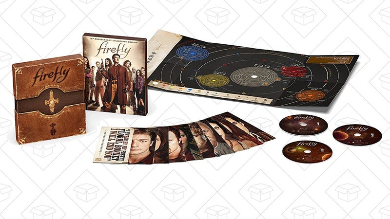 Firefly 15th Anniversary Set | $15 | Amazon