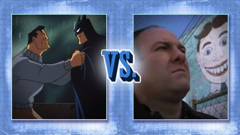 Illustration for article titled Vote Batman or Sopranos in round 1 of our best dream sequence bracket