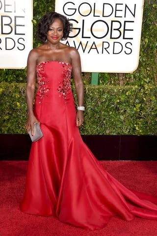 Viola Davis attends the 72nd Annual Golden Globe Awards at the Beverly Hilton Hotel Jan. 11, 2015, in Beverly Hills, Calif.Jason Merritt/Getty Images