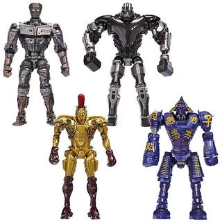Illustration for article titled Real Steel Action Figures