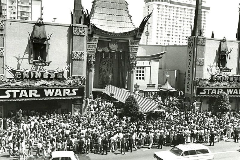 Illustration for article titled Recording Captures Thrill Of Seeing Star Wars In 1977