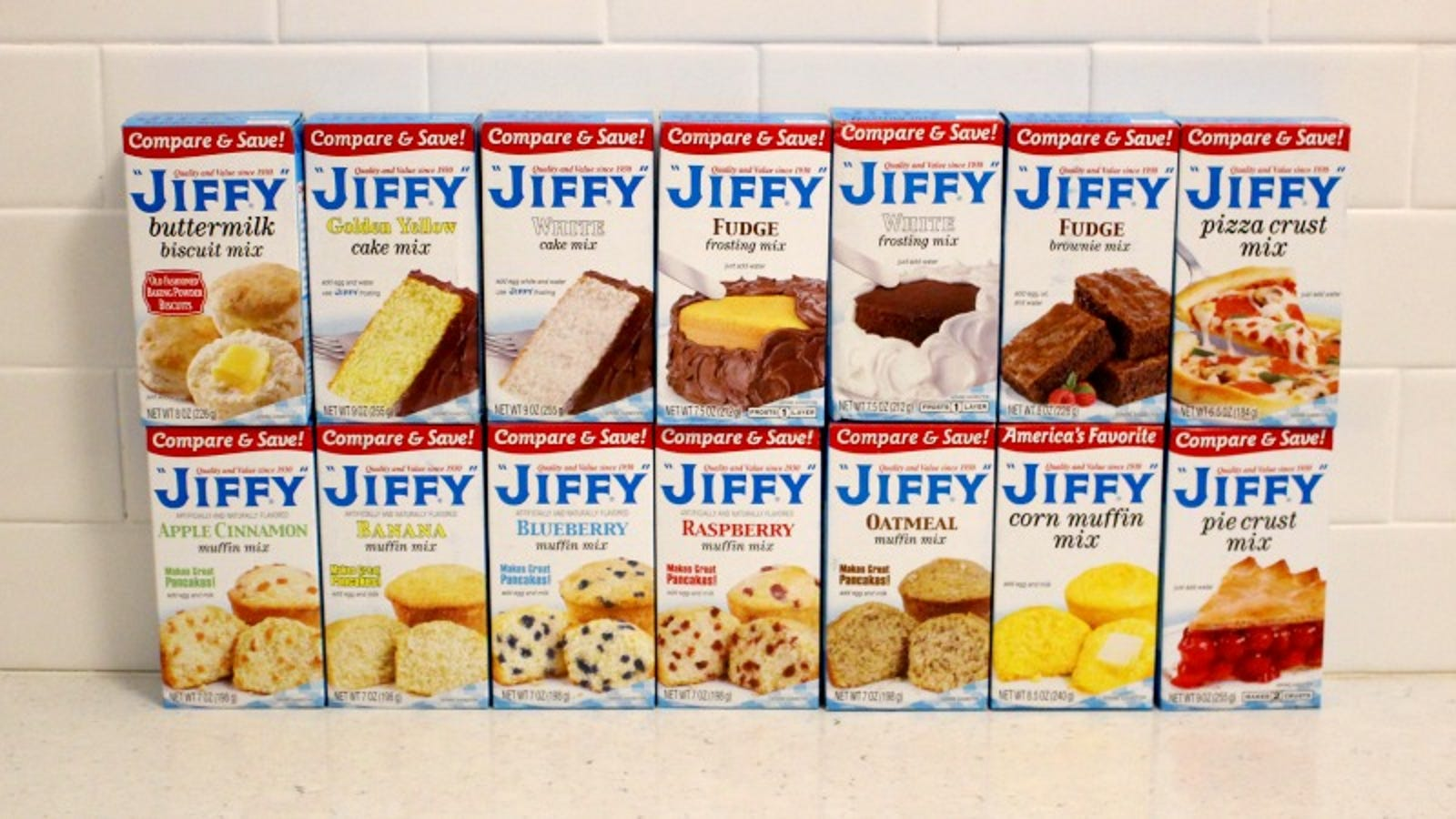 Every Single Box Of Jiffy Mix Baked And Tasted