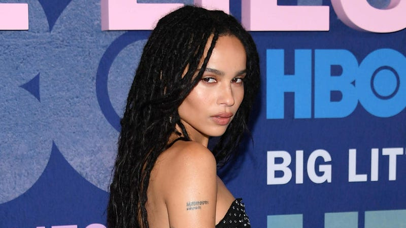 "Zoe Kravitz attends the ""Big Little Lies"" Season 2 Premiere on May 29, 2019, in New York City."